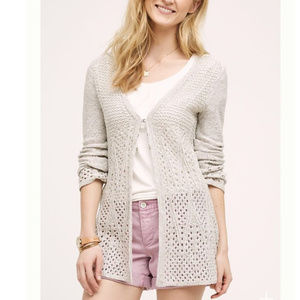 Anthropologie Knitted & Knotted Bella Cardigan